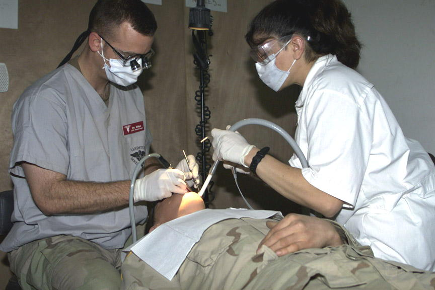 FOB Ironhorse Dental Clinic – Tikrit, 2004