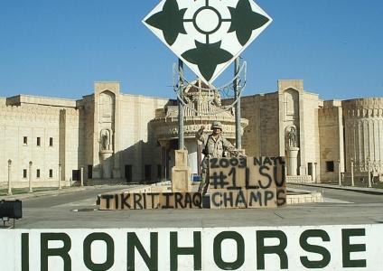LSU Nat'l Champs – Tikrit, 2004