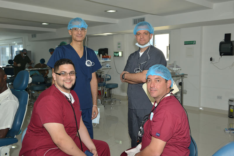Dr. Rider with Surgical Team