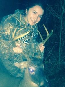 Katie - 1st deer