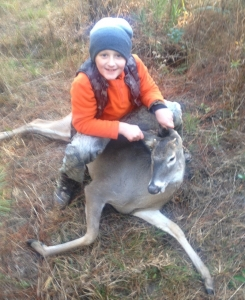 Nathan - 1st deer