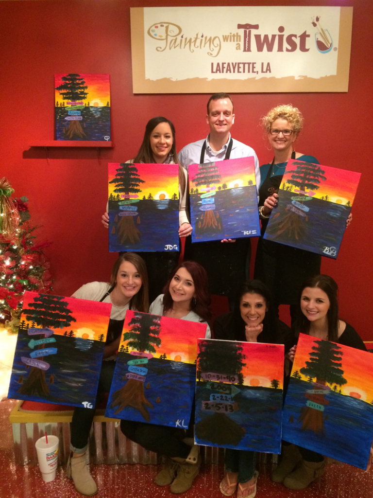 Painting with a Twist Party
