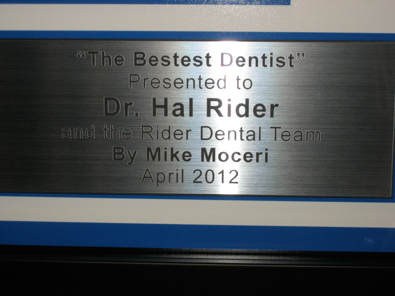 Rider Dental Song - plaque