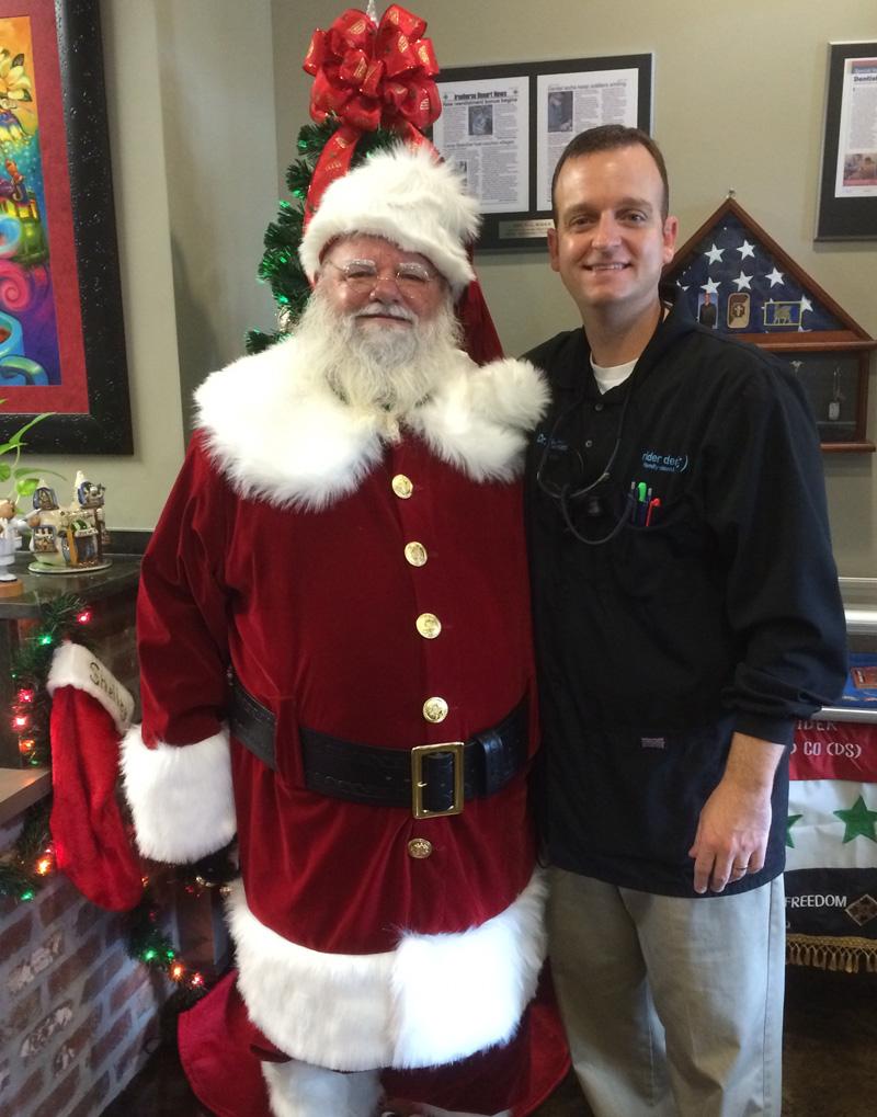 Santa & Dr. Rider